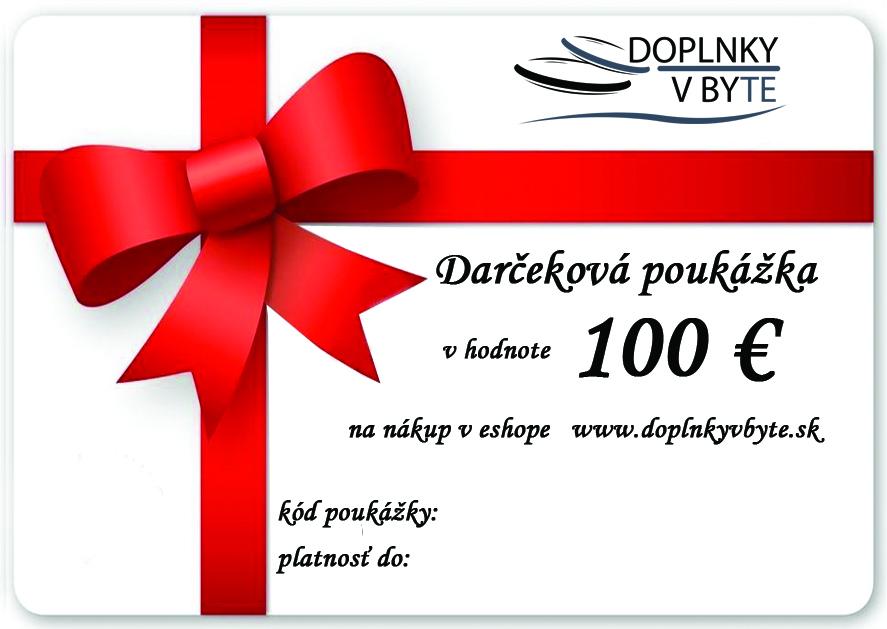 625d09242 Darčekové poukážky | Darčeková poukážka na nákup tovaru v hodnote ...